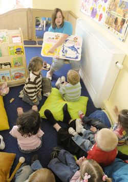 A Language and Play session